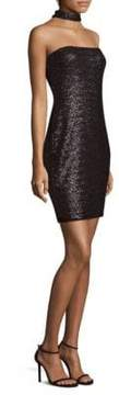 Bailey 44 Day for Night Sequin Choker Dress