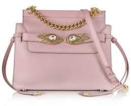 Roberto Cavalli Women's Pink Leather Shoulder Bag.