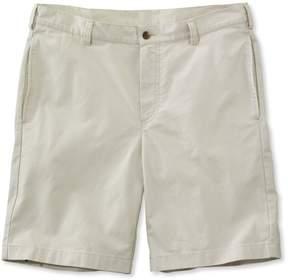 L.L. Bean L.L.Bean Tropic-Weight Chino Shorts, Standard Fit Plain Front 9