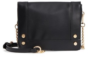 Bp. Studded Faux Leather Crossbody Bag - Black
