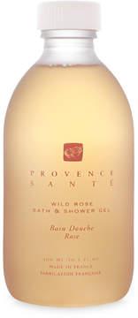 Provence Sante Wild Rose Bath + Shower Gel by 10.2oz Shower Gel)