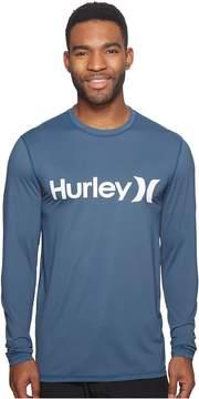 Hurley One Only Long Sleeve Surf Shirt Men's Swimwear