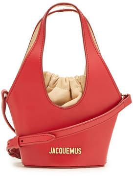 Jacquemus Le Cario Leather Bucket Bag