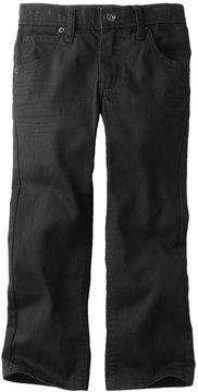 Lee Boys 4-7x Dungarees Black Skinny Jeans