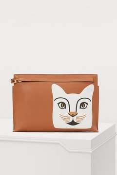 Loewe Cat T pouch