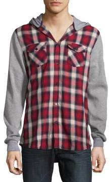 Buffalo David Bitton Sadrian Button-Down Hoodie