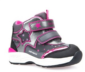 Geox Toddler Girl's Gulp Abx Waterproof Star Sneaker Boot