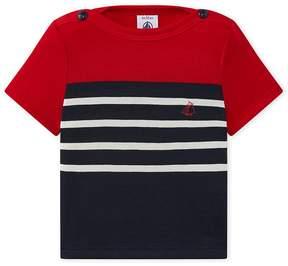Petit Bateau Baby boy's light jersey T-shirt