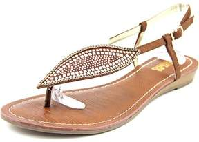 Carlos by Carlos Santana Laverne Women Open-Toe Synthetic Brown Slingback Sandal