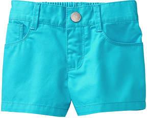 Gymboree Scuba Blue Shortie Shorts - Infant, Toddler & Girls