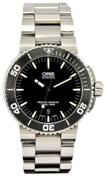 Oris Aquis Date 73376534154M Stainless Steel Automatic 44mm Mens Watch