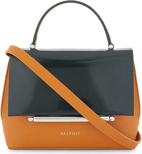 Delpozo Patent leather cross-body bag