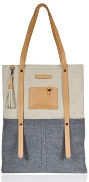 Sherpani Hadley Wool Tote - Grey
