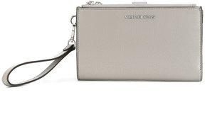 MICHAEL Michael Kors wrist strap logo wallet - GREY - STYLE