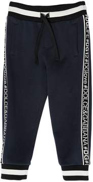 Dolce & Gabbana Hashtag Bands Cotton Sweatpants