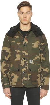 Carhartt Camouflage Cotton Canvas Jacket