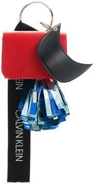Calvin Klein contrast clutch bag