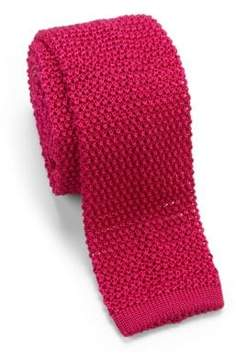 Charvet Solid Knit Silk Tie