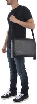 Emporio Armani Leather Briefcase