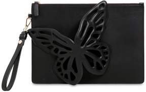 Sophia Webster Flossy Butterfly Leather Pouch