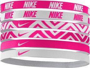 Nike 6-Pk. Active Mini Printed Headband Set