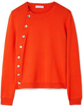 Altuzarra Minamoto Embellished Merino Wool Sweater - Red