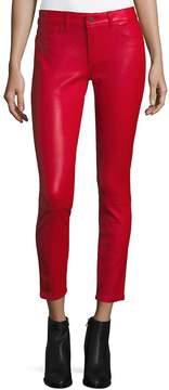 DL1961 Premium Denim Women's Ankle Leather Pants - Back Draft, Size 28 (4-6)