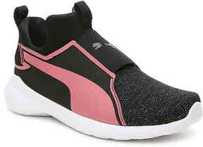 Puma Girls Rebel Gleam Toddler & Youth Slip-On Sneaker