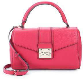 Karl Lagerfeld Paris Women's Ali Leather Satchel