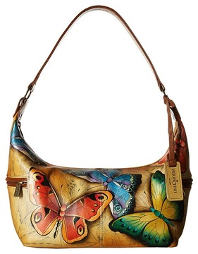 Anuschka Handbags 510 East West Medium Hobo