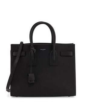Saint Laurent Sac de Jour Small Satchel Bag, Black (Noir)