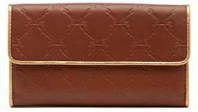 Longchamp LM Cuir Leather Clutch Wallet - OAK BROWN - STYLE