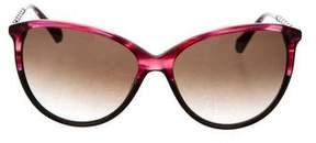 Balmain Cat-Eye Gradient Sunglasses