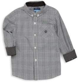 Andy & Evan Little Boy's Plaid Cotton Shirt