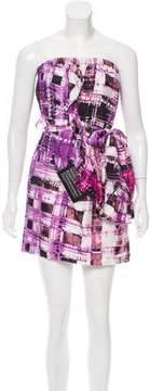 Ali Ro Strapless Silk Dress w/ Tags