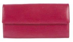 Louis Vuitton Epi Sarah Wallet - RED - STYLE