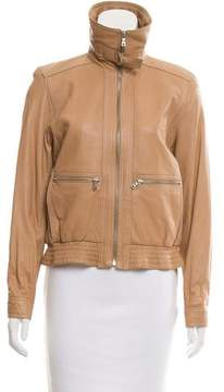 Andrew Marc Long Sleeve Leather Jacket