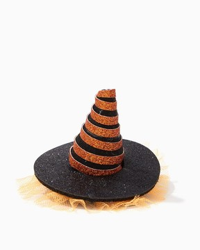 Charming charlie Glittery Witch Hat Hairclip