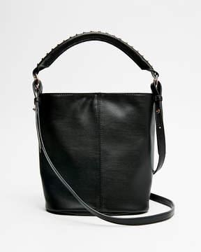 Express Studded Mini Bucket Bag