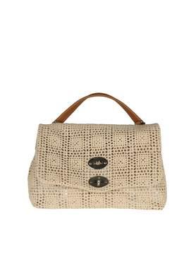 Zanellato postina S Palamitara Bag In Macrame' Color Beige