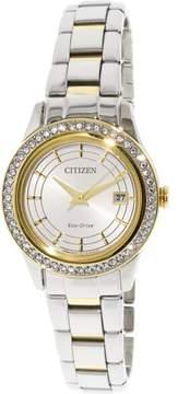 Citizen Women's FE1124-58A Silver Stainless-Steel Japanese Quartz Fashion Watch