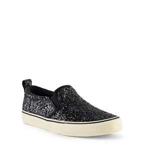 Ralph Lauren Carlee Glitter Slip-On Sneaker
