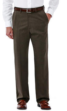 Haggar Premium Stretch Classic Flat-Front Dress Pants