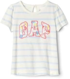 Gap Stripe Logo T-Shirt