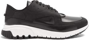 Neil Barrett Raised-sole low-top leather trainers