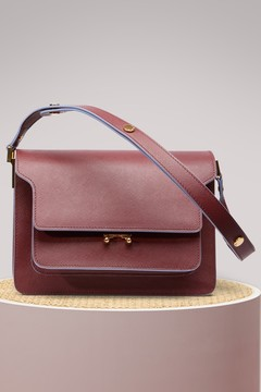 Marni Trunk Shoulder Bag in Calfskin