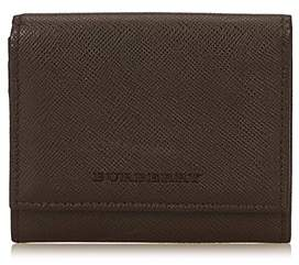 Burberry Pre-owned: Leather Coin Pouch. - BROWN X DARK BROWN - STYLE