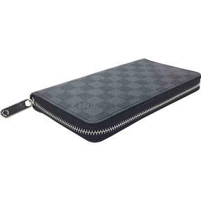 Louis Vuitton Zippy cloth wallet - GREY - STYLE