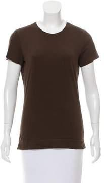 Adam Tonal-Stitched Scoop Neck T-Shirt