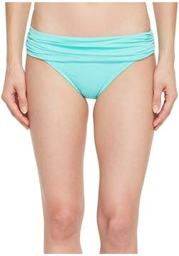 LaBlanca La Blanca Island Goddess Shirred Waist Hipster Bottom Women's Swimwear